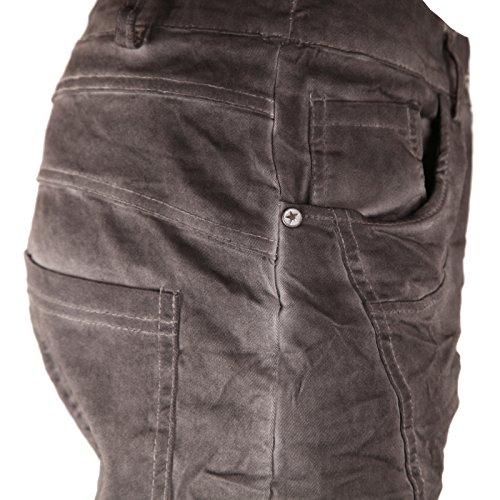 Grau Basic Donna Camicia de Stonewash qnnORtxZw