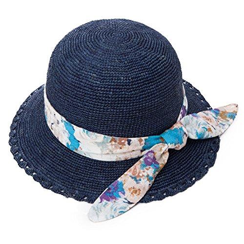 Raffia Crochet Hat - 6