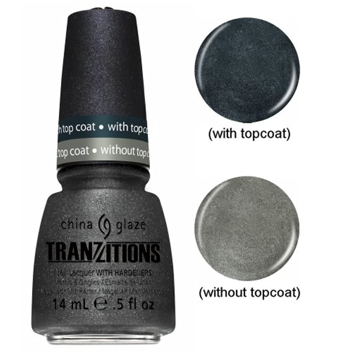 リンスリビジョン受付CHINA GLAZE Nail Lacquer - Tranzitions - Metallic Metamorphosis (並行輸入品)