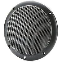 PolyPlanar 4 2 Way Coax Integral Grill Marine Speaker Pair Black