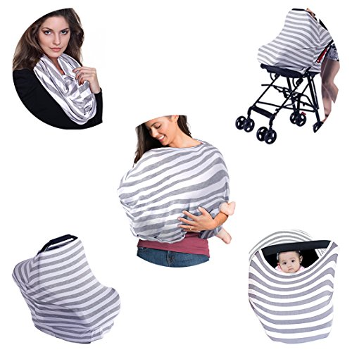 Kyapoo Baby Nursing Breastfeeding Cover Multi-Use Flexible Unisex Super Soft 100% Organic Cotton by Kyapoo (Image #5)