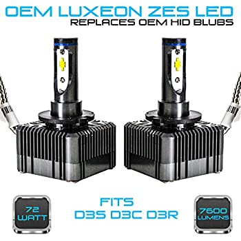 Amazon Com Stark 72w 7600lm Headlight Led Canbus