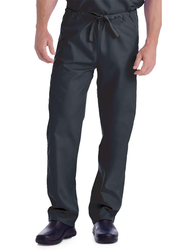 Landau Unisex Classic Fit Reversible Drawstring Scrub Pants XX-Large Tall Graphite