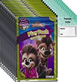 Hotel Transylvania Grab and Go Play Packs Bundle (12 Packs) Party Favors and 12 Thank you Cards