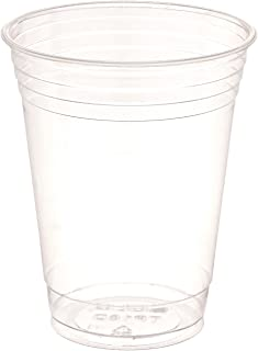 product image for SOLO Cup Company Plastic Party Cold Cups, 16 oz, Clear, 1000 Cups