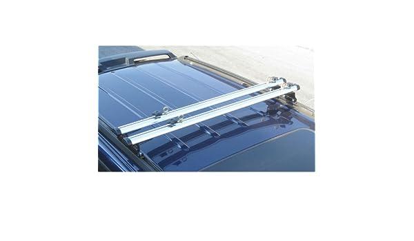 "Silver J1000 ladder roof van rack 60/"" cross bar Fits Factory 1/"" tracks"