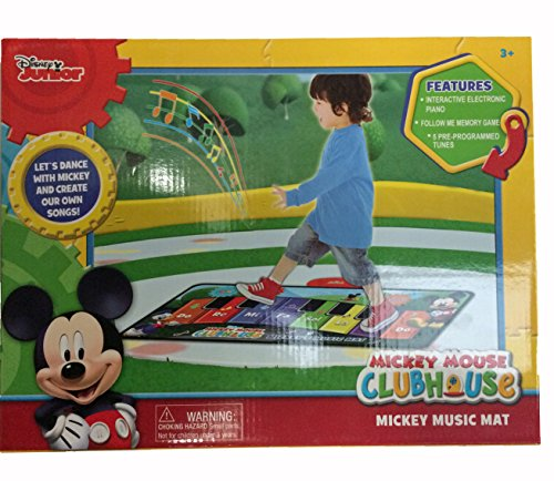 51U07g1HX4L - Disney Junior Mickey Mouse Music Mat (packaging may vary)