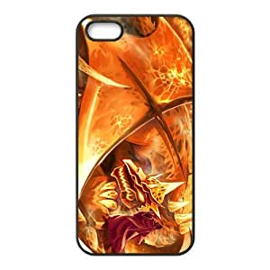 Custom Fire Dragon Back Cover Case for iphone 5,5S JN5S-1297 by ruishername