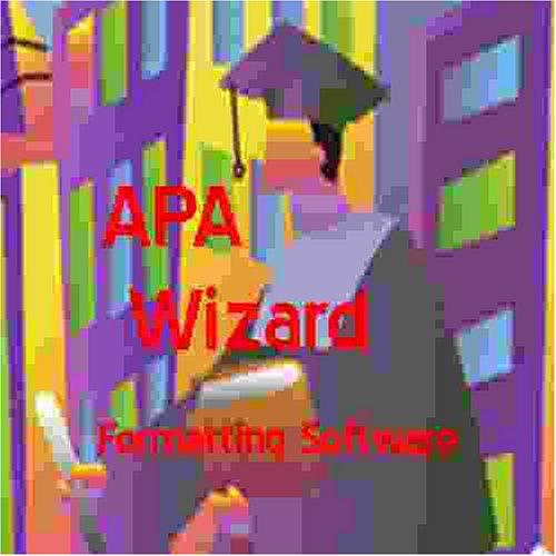 amazon com apa wizard deluxe apa format software