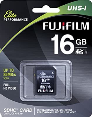 Amazon.com: Fujifilm Elite SDHC de 16 GB Clase 10 UHS-1 ...