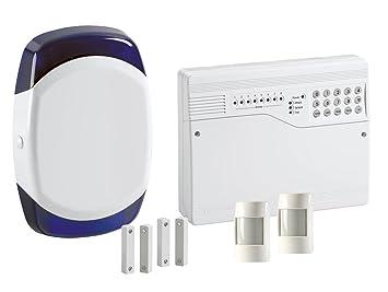 Honeywell HW6 - Sistema de alarma con cable (8 zonas ...