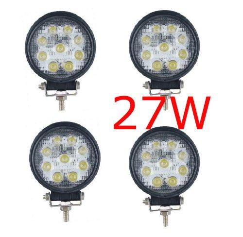 173 opinioni per MIRACLE 27W FARO DA LAVORO LUCE DI PROFONDITA' A LED 27W , 12V 24V LED Lampada