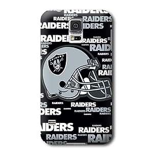 S5 Case, NFL - Oakland Raiders - Blast Alternate - Samsung Galaxy S5 Case - High Quality PC Case