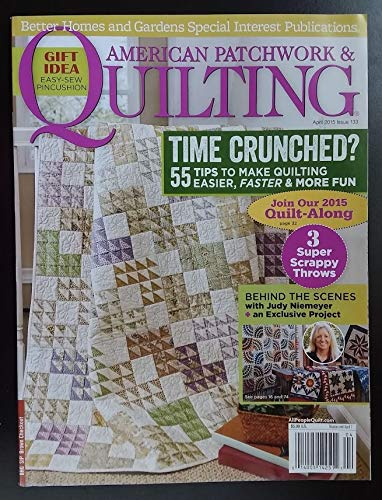 American Patchwork & Quilting ( April 2015 )