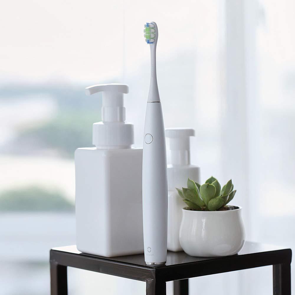 Minebdfe Xiaomi One Recargable Sonic Cepillo de Dientes Eléctrico APLICACIÓN Control Inteligente Salud Dental Cuidado Dental para Adultos Warm White: ...