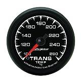 Auto Meter 5957 ES 2-1/16'' 100-260 F Full Sweep Electric Transmission Temperature Gauge