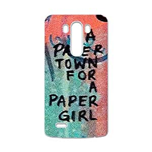 Happy a paere town for a paper girl Phone Case for LG G3