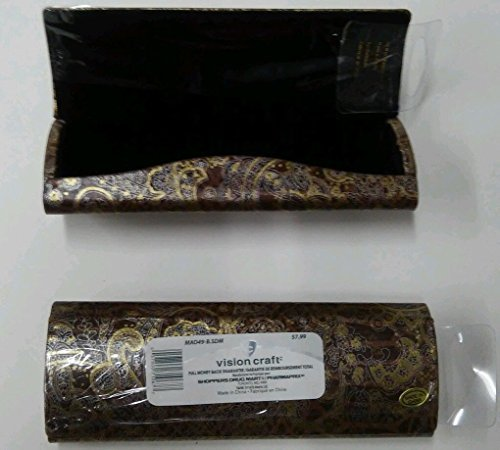 Lot of 2 Oval-Gold Design by Vision Craft Eyeglasses/Sunglasses Hard Case NEW by XTRASIGHT from XTRASIGHT