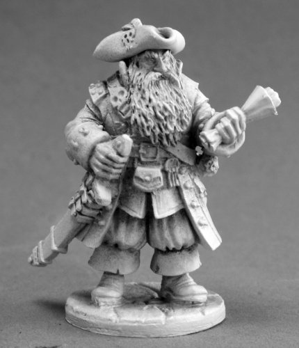 Barnabus Frost - Pirate Captain MINT/New by Reaper
