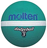 Molten Ld3g Dodgeball Sports Indoor/outdoor Match Playing Rubber Ball Size 3