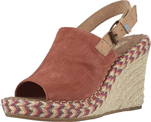 TOMS Women's Monica Spice Suede/Leather 9 B US