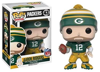 Amazon.com  Funko POP NFL  Wave 3 - Aaron Rodgers Action Figure ... 9c5f71965