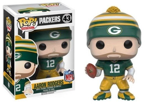 Funko POP NFL: Wave 3 - Aaron Rodgers Action Figure