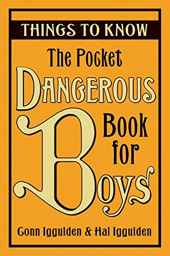 Pocket Dangerous Book Boys Things product image