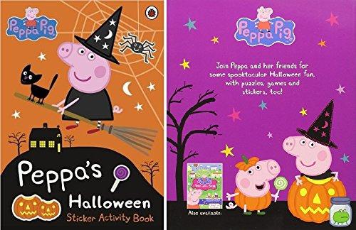Peppa Pig Halloween An Oversize Sticker Activity Book (Octonauts Halloween)
