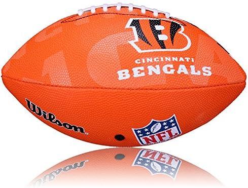 Wilson NFL Junior - Balón Infantil de fútbol Americano, diseño de ...