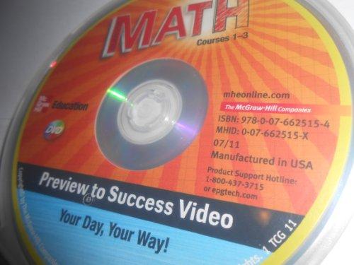 Glencoe Math Preview to Success Marketing Video DVD