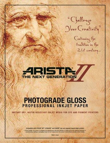 Arista II Inkjet Glossy 13 x 19  /25 sheets - 10.4mil (2441132) ()