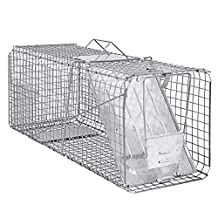 """Best Choice Products SKY1502 Raccoon Skunk Poss Humane Animal Trap 31"""" x 12"""" x 12"""" Cage Rabbit Cat Live"""
