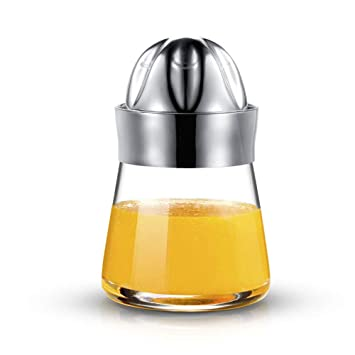 Extractor manual de acero inoxidable para frutas, cítricos, limón, naranja, exprimidor con