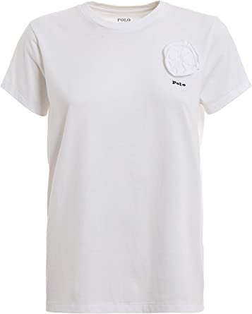 Polo Ralph Lauren Bianco Donna XS: Amazon.es: Ropa y accesorios