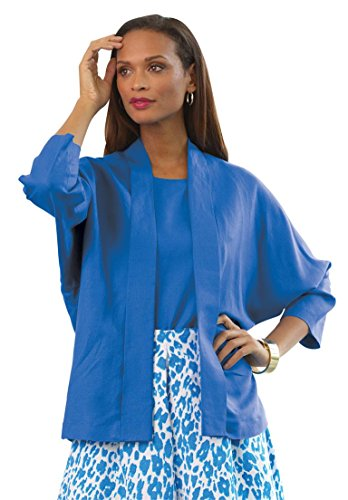 Jessica-London-Womens-Plus-Size-Linen-Jacket