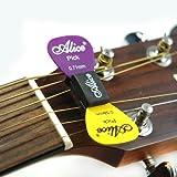 Alice LT3410 Plectrum Holder for Acoustic/3 Side Electric Guitars
