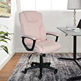 Best Serta Computer Desks - Serta Style Hannah II Office Chair, Microfiber, Pink Review