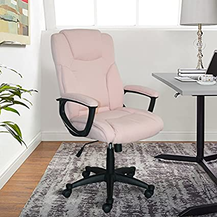 Serta Style Hannah II Office Chair Microfiber Pink