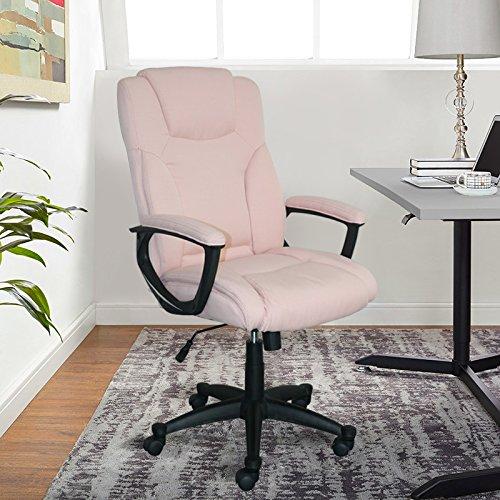 Serta Style Hannah II Office Chair, Microfiber, Pink by Serta