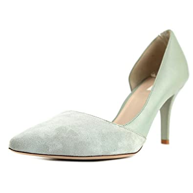 Cole Toe Haan Highline Pump Pointed Toe Cole Patent Leather Heels Green Size 9.5 b92f3f