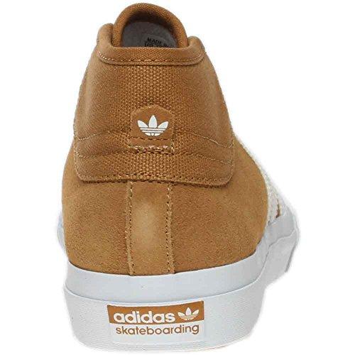 Adidas Mens Matchcourt Mid Adv Pattino Da Skate Marrone