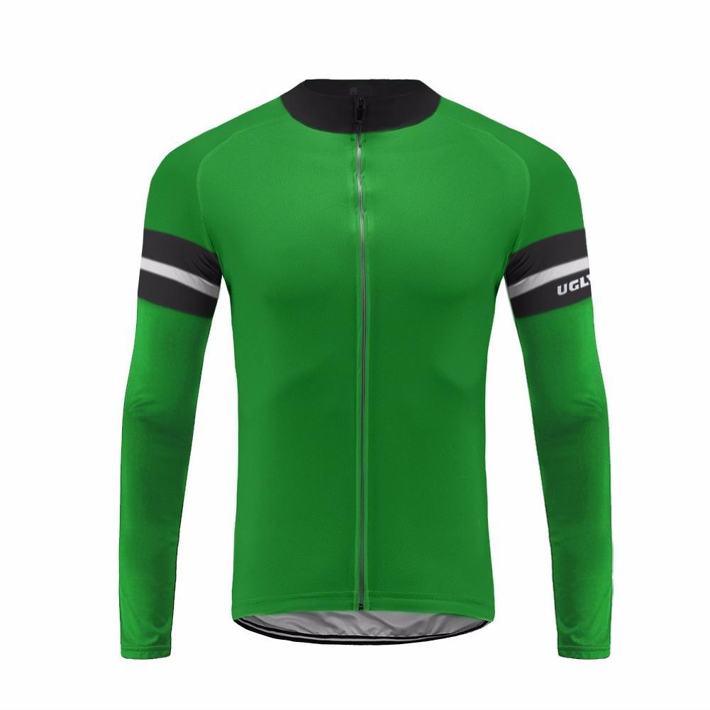 Uglyfrog 2016 ug9新しい春&秋アウトドアスポーツメンズクラシック長袖サイクリングジャージー自転車シャツTriathon Clothing B074TZQRBQ 5L|カラー20 カラー20 5L