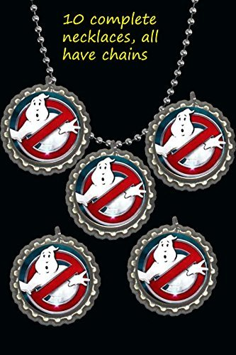 Ghost busters party necklace favors lot of (Ghostbusters Party Favors)