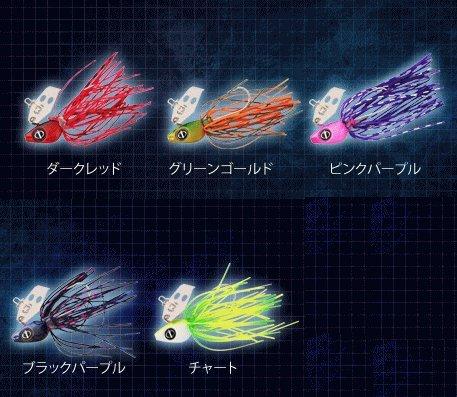 OceanRuler(オーシャンルーラー) ルアー チャター波動チヌ 10g ダークレッドの商品画像
