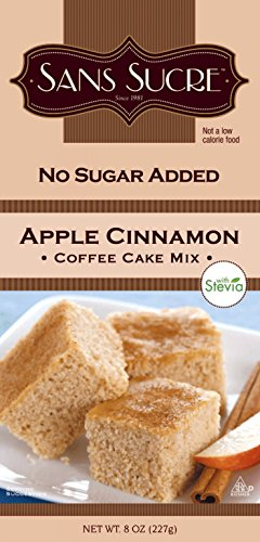 Sans Sucre Apple Cinnamon Coffee Cake Mix (sweetened with Stevia)