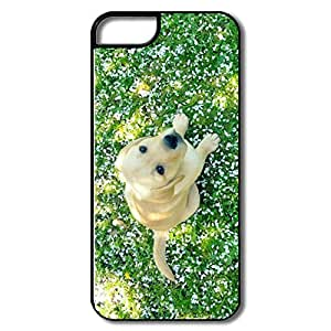 IPhone 5S Cases, Dog Spring White/black Covers For IPhone 5/5S