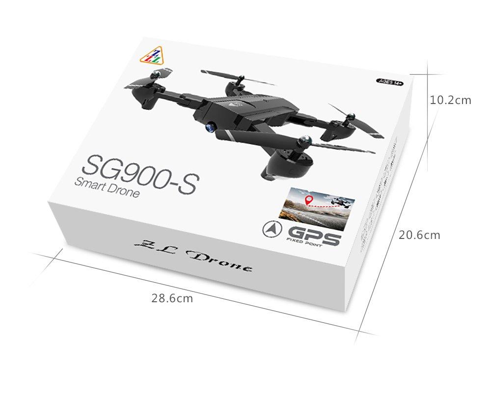 FEICHAO SG900 / SG900-S Faltbarer Drohne Quadcopter mit mit mit 720P / 1080P HD Kamera WiFi FPV Drohnen GPS-Fixpunkt Hubschrauber (SG900 2200mAh Battery) 9bd01d