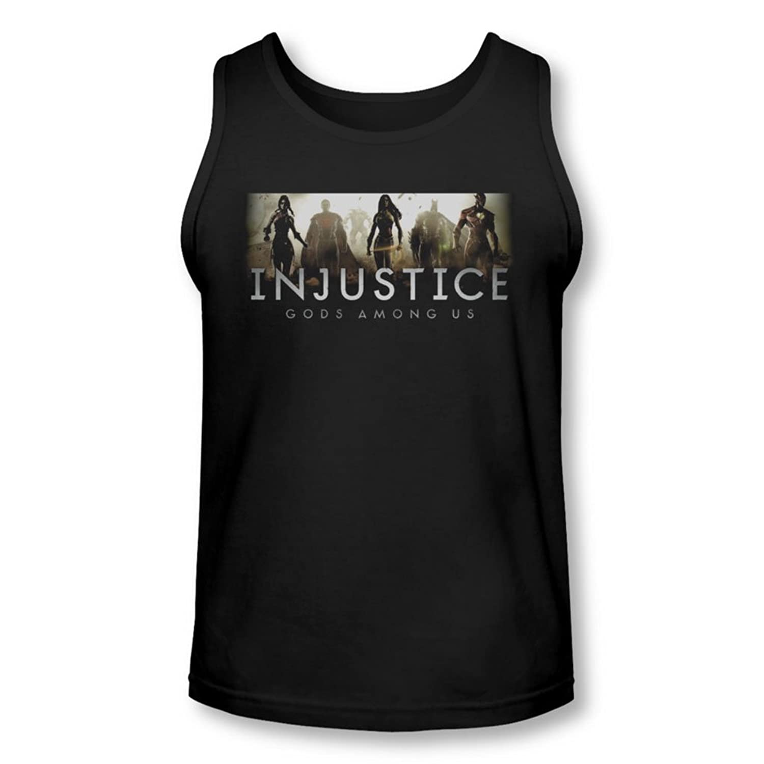 Injustice Gods Among Us - Mens Logo Tank-Top