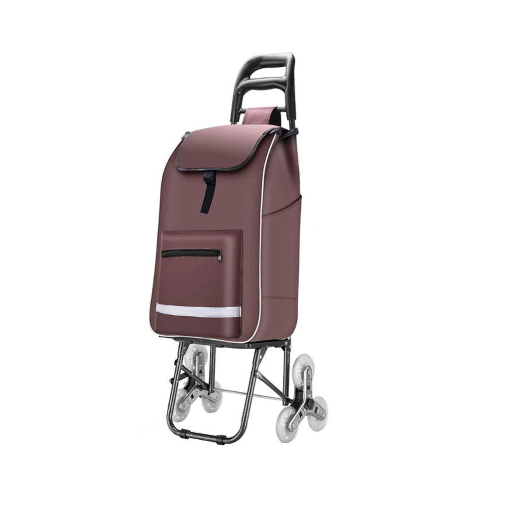 ショッピングカート ショッピングトロリー ショッピングバッグ 折り畳み式トロリー ポータブル プルロッド 車 旅行 アウトドアトロリー B07K3V7XPK